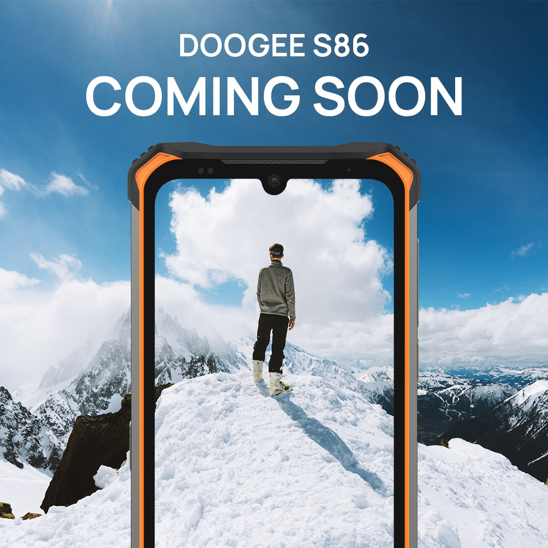 🔋 #DOOGEE_S86 NON-STOP ENERGY RUGGED PHONE is about to arrive.