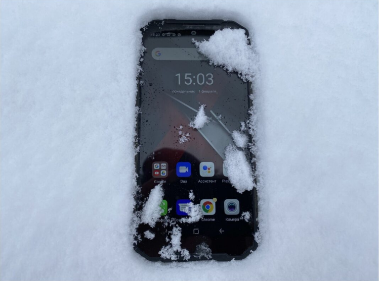 Rugged phone should withstand #TheFrozenTest S96PRO