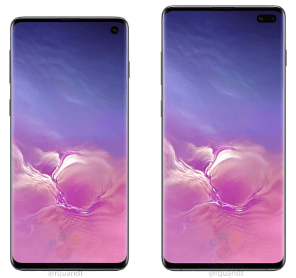 Official Samsunrg Galaxy S10 Renders Leaked Online