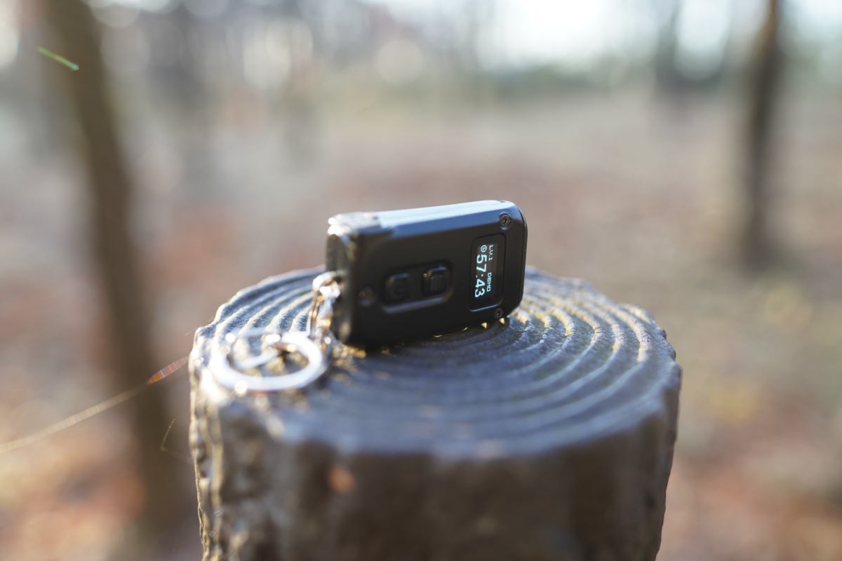 The TINI2 has 500 lumens output, OLED display, powerful functions in such a tiny body!