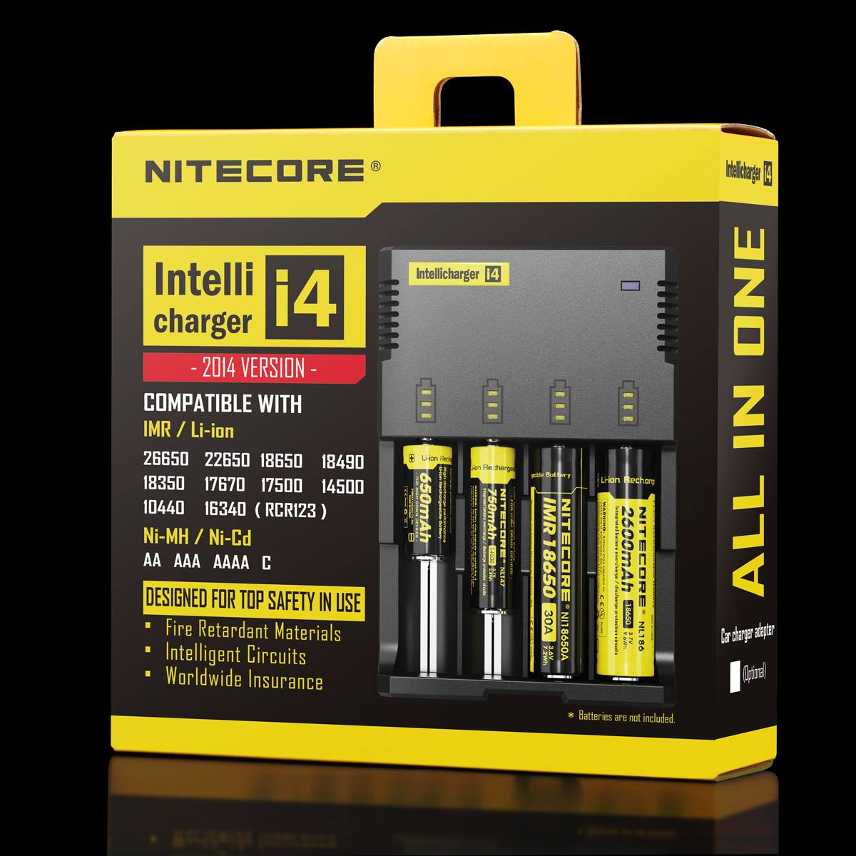 Nitecore I4 restock with good price, welcome to check.