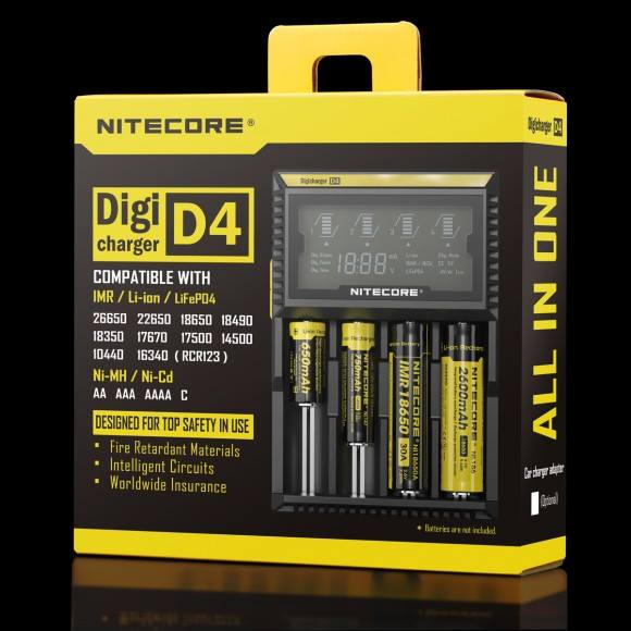 Nitecore d4 restock with good price, welcome to check.