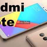 Xiaomi Redmi Note 5 Images rendered!