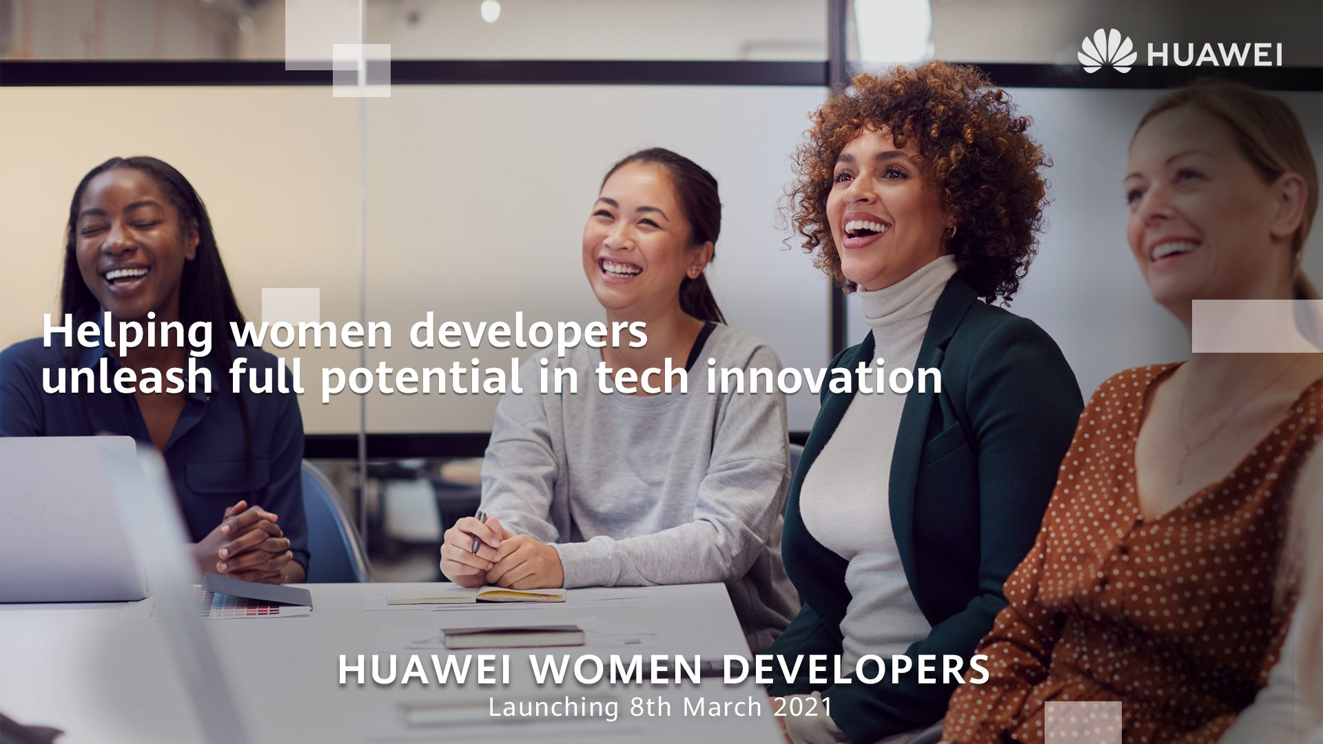 Today we are announcing the launch of our newest initiative, HUAWEI Women Developers!